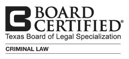 Texas Board Certified for Criminal Law